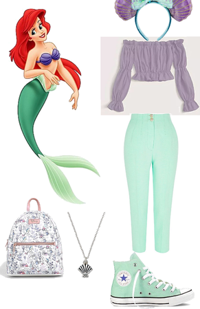 Ariel in Disney world
