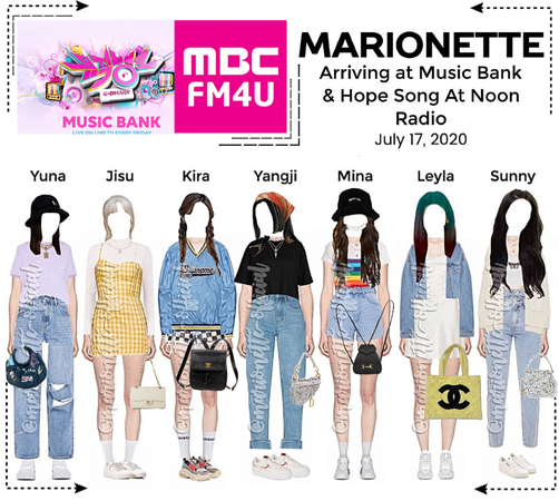 MARIONETTE (마리오네트) Arriving at Music Bank & Hope Song At Noon Radio