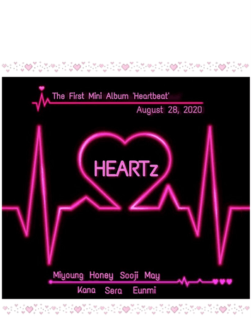 HEARTz|| The First Mini Album 'Heartbeat' Debut Teaser