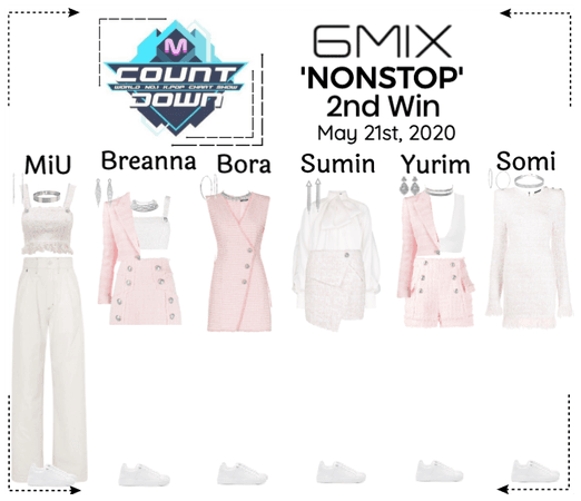 《6mix》MCountdown Live 'NONSTOP'