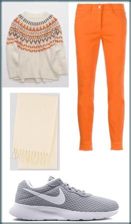 orange and cream (winter)