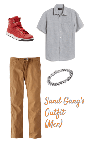 Sand Gang's Outfit (Men) in book Pain