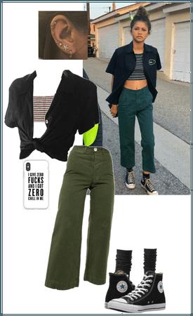 Zendaya euphoria outfit