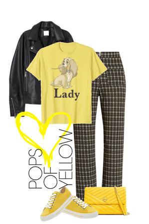 Pops of Yellow Sunshine