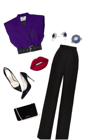 Purple deep winter