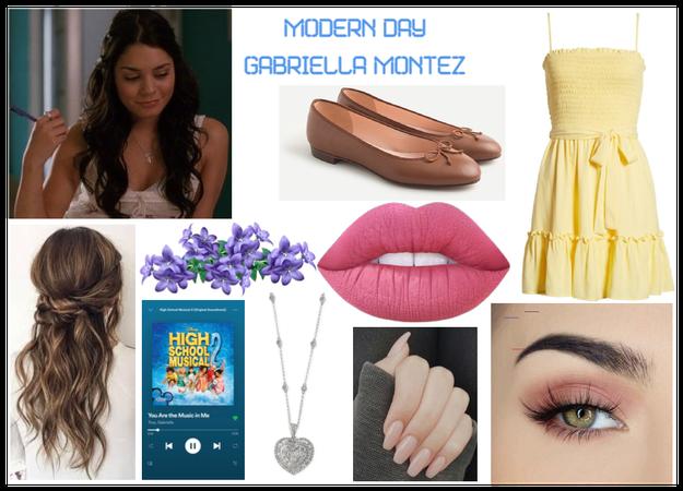 modern day characters 35: Gabriella Montez