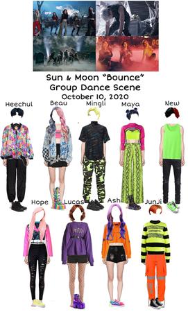 "Sun & Moon ""Bounce"" Group Dance Scene"