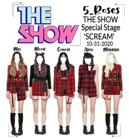 5ROSES 'Scream' Special Halloween Stage
