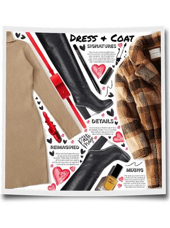 Dress & Coat 🙌🏽