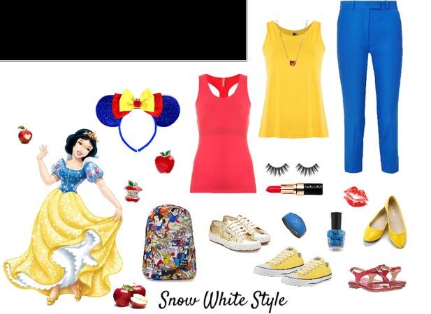 DisneyBound...Snow White Style