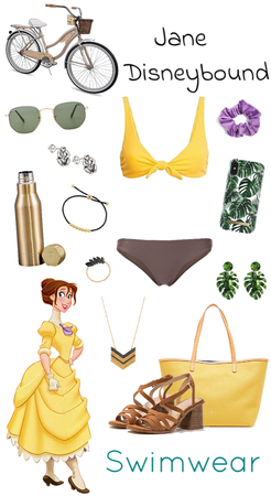 Jane Swimwear Disneybound