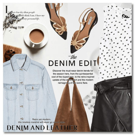 New: Denim & Leather