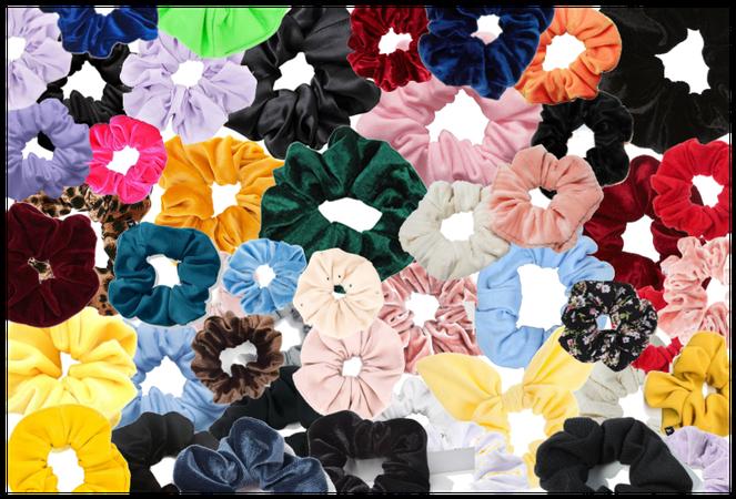 Kooky scrunchies
