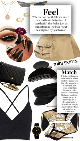 She's got it: Black and gold