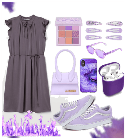 Hot purple