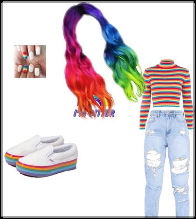 Rainbow fit for @pronsgiepie