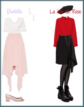 IZ*ONE Violeta + La Vie en Rose