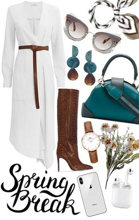 Spring Midi Dress Design