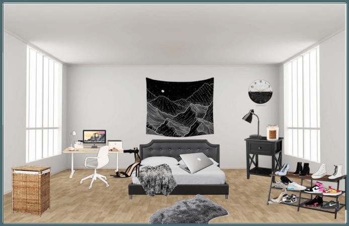 Room #1 🤍🖤