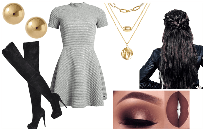 Sleek Party Outfit
