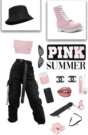 Summer In Black & Pink