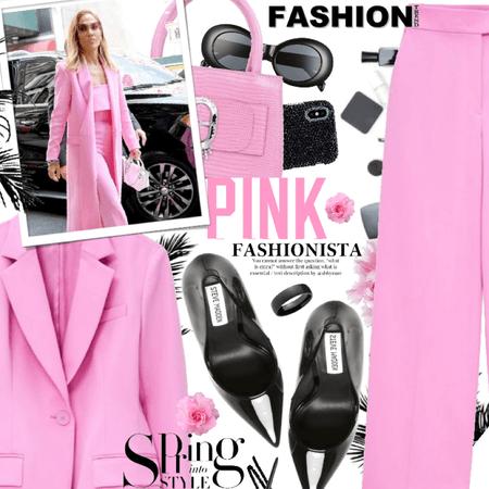 fashion forward pink fashionista 💓