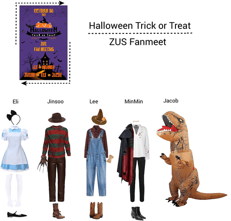 Zus//Halloween Trick or Treat Fanmeet