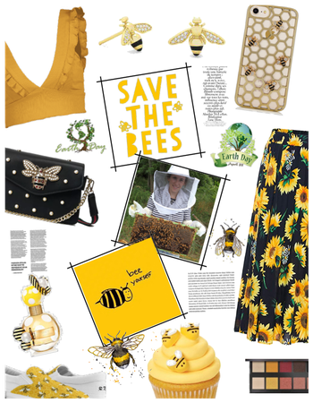 Earth day Save the Bees