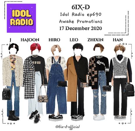 6IX-D [씩스띠] Idol Radio 201217
