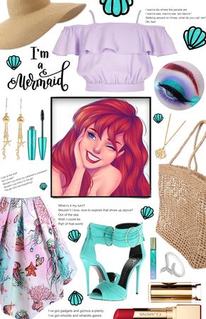 Modern Ariel | MODERN DISNEY PRINCESS CHALLENGE |