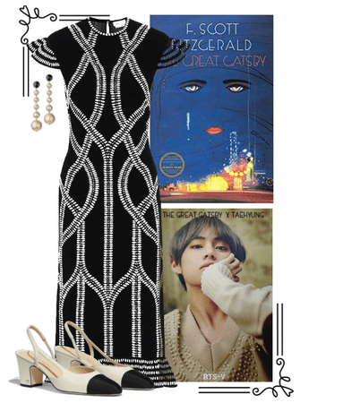 BTS x Classic Lit: Taehyung as The Great Gatsby