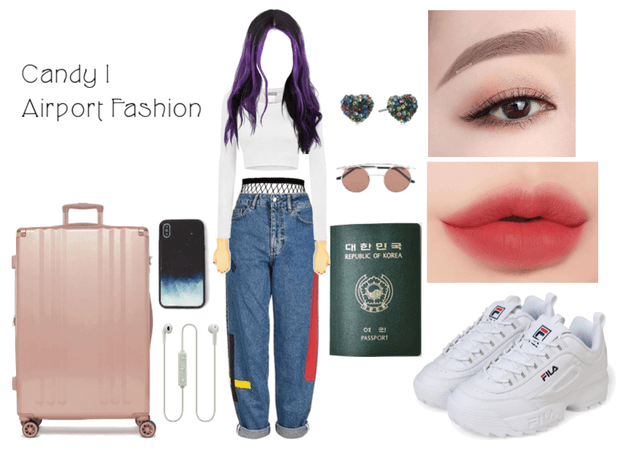 Candy Airport Fashion | Orlando Arrival