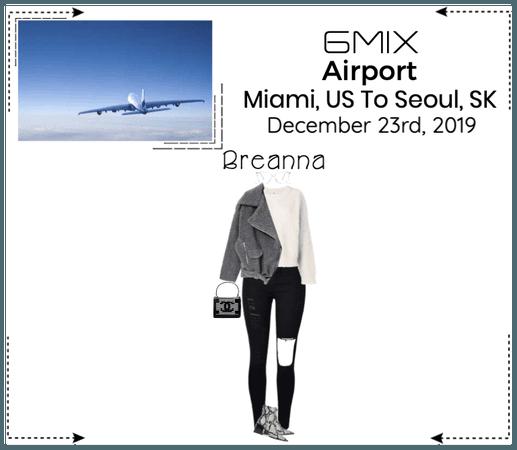 《6mix》Airport | Miami, US To Seoul, SK