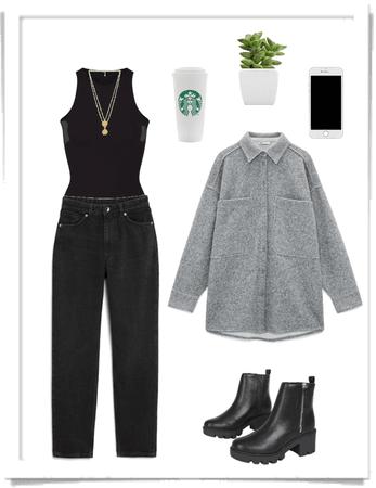 casual coffee date 🖤
