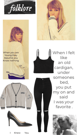 cardigan- Taylor Swift