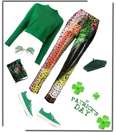 St Paddy's green!