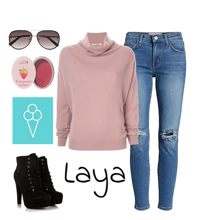 GET THE LOOK: Laya