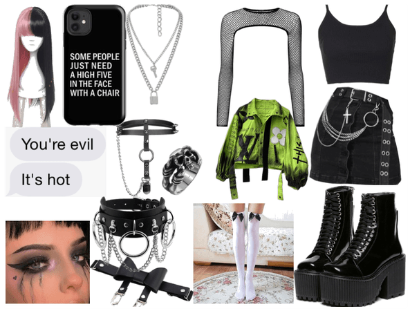 Gothic,grunge or e girl