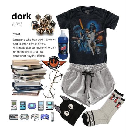 dorky fashion