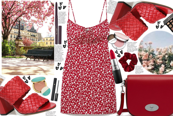 Red Spring Trend: Mini Dress