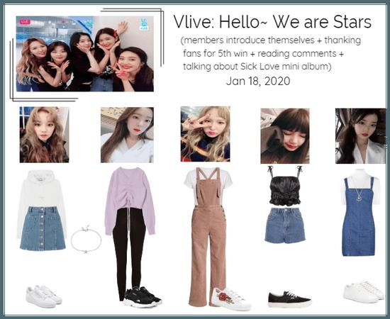 [Stars]Vlive: Hello~ We are Stars