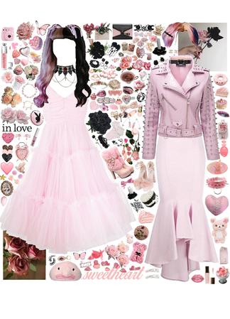 pastel goth wedding