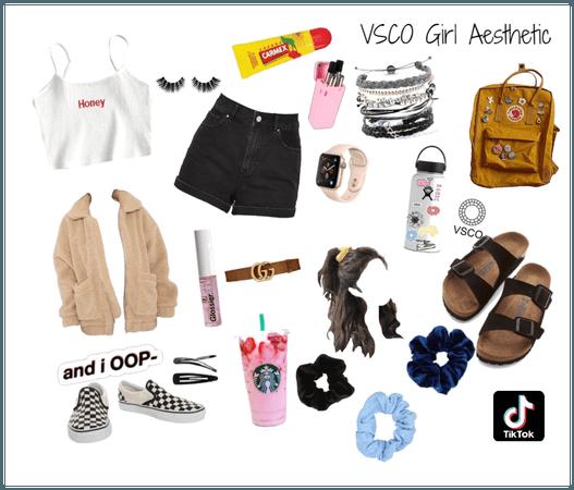 VSCO girl aesthetic