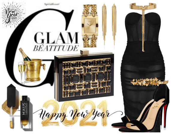 New year's eve glam