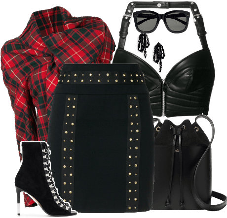 Edgy In Plaid