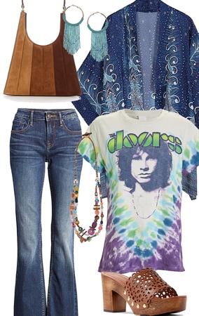 Tie Dye Hippie Chic