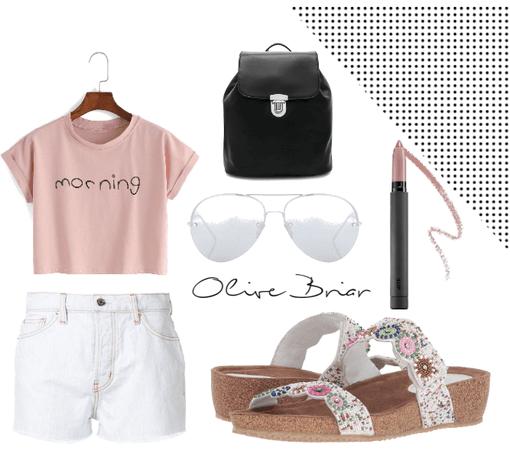Olive Briar- School Wear