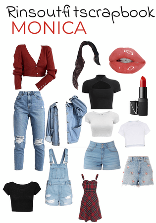 Monica|Friends|a lookbook 🥺❤️