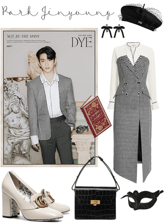 "GOT7 ""DYE"" Jinyoung Version🖤"