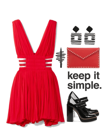 Black and Red - Keep It Simple